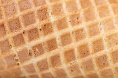 Closeup of wafer background texture. Royalty Free Stock Photos