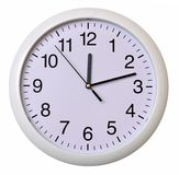 Closeup of wall clock Stock Photo
