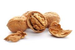 Closeup of a walnut Stock Photo