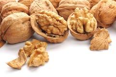Closeup of a walnut Royalty Free Stock Photo