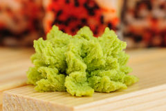 Closeup of wasabi Royalty Free Stock Image