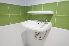 Closeup of a wash basin Stock Photo