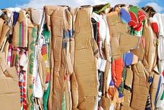 Closeup on wasteful carton. Resources Stock Photos