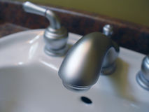 Closeup of Water Tap royalty free stock photography