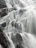 Closeup of a waterfall Royalty Free Stock Photo