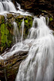 Closeup of waterfall Stock Images