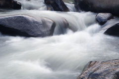Closeup waterfalls. Beautiful waterfall at mountain in thailand Royalty Free Stock Image