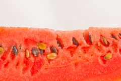 Closeup watermelon Royalty Free Stock Photo