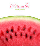 Closeup of watermelon Royalty Free Stock Photos