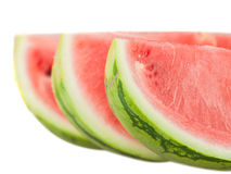 Closeup of watermelon slices Stock Photo