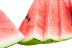 Closeup of watermelon slices Royalty Free Stock Photography