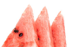 Closeup of watermelon slices Stock Image