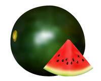 Closeup of watermelon Stock Photos