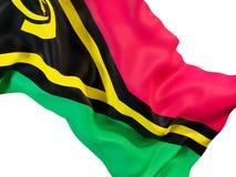 Waving flag of vanuatu Royalty Free Stock Photography