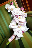 Orchid wedding bouquet Royalty Free Stock Photos