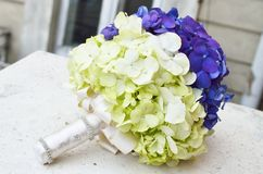 Handmade wedding bouquet Stock Photos