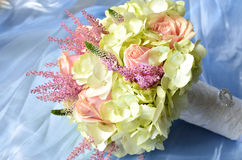 Closeup wedding bouquet Royalty Free Stock Images