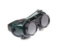 Closeup of welding glasses. Stock Photography