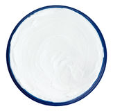 Closeup of a white beauty cream Royalty Free Stock Image