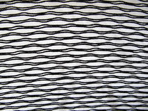 Closeup of white and black material Royalty Free Stock Image
