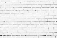Closeup of white brick wall Stock Photo