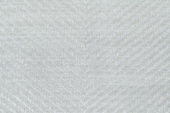 Closeup white color fabric texture. Royalty Free Stock Images
