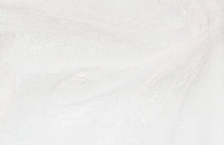 Closeup of white folded fabric royalty free stock images