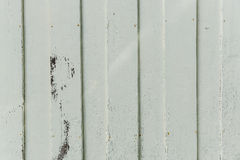 Closeup white old paint hardwood wall Royalty Free Stock Photography