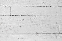 Closeup white painted concrete wall texture Stock Photos