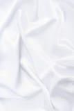 Closeup of white smoot fabric Royalty Free Stock Photo