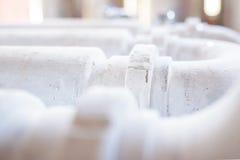 Closeup of White Tube Stock Images
