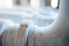 Closeup of White Tube Royalty Free Stock Image