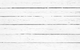 Closeup of white wooden plank Royalty Free Stock Photo