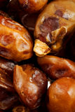 Closeup of whole dates Stock Photo