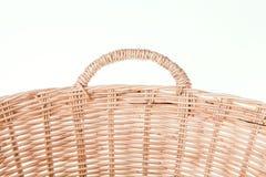Closeup wicker basket Royalty Free Stock Photos