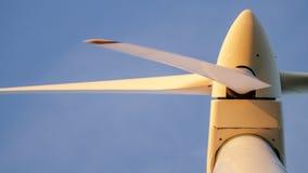 Closeup of a wind turbine Stock Photos