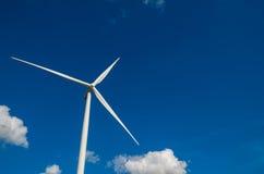 Closeup Wind turbine power generator Royalty Free Stock Photo