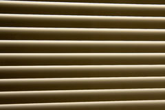 Closeup of window-blind Royalty Free Stock Photography