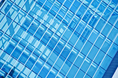 Closeup window glass building Royalty Free Stock Images