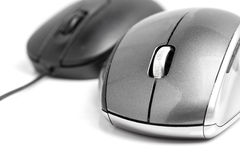 Closeup on wireless mouse Stock Photography