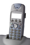 Closeup wireless telephone with blank screen Stock Images