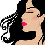 Closeup woman Royalty Free Stock Images
