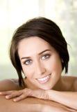 Closeup woman Stock Photo