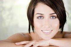 Closeup woman Royalty Free Stock Image