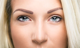 Closeup of  woman eye Royalty Free Stock Photo