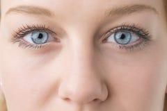 Closeup woman eyes Royalty Free Stock Photo