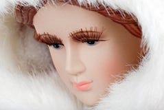 Closeup woman face manikin Royalty Free Stock Photo