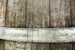 Closeup of wood barrel - high contrast Stock Photos