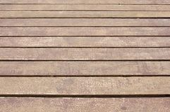 Closeup of wood plank Stock Images