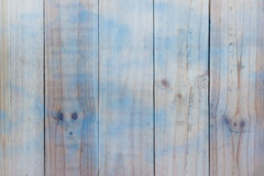 Closeup of wood texture with blue Stock Image
